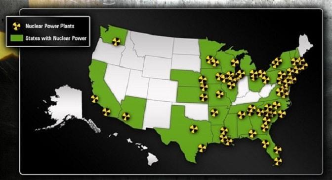 Атомные станции США